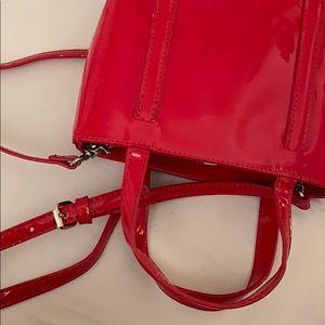 Red crossbody/ hand bag